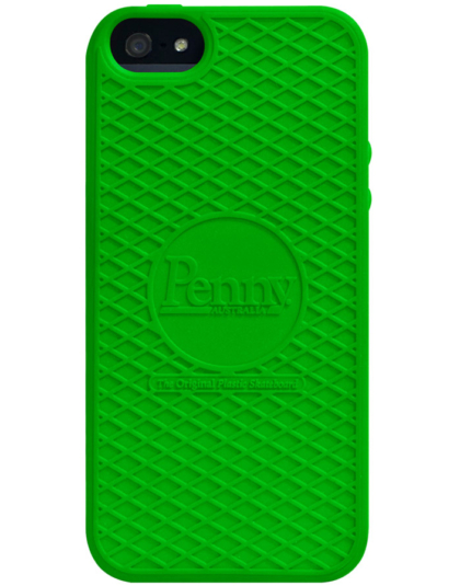 Penny iPhone case Green