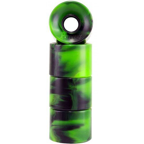 green:black swirl