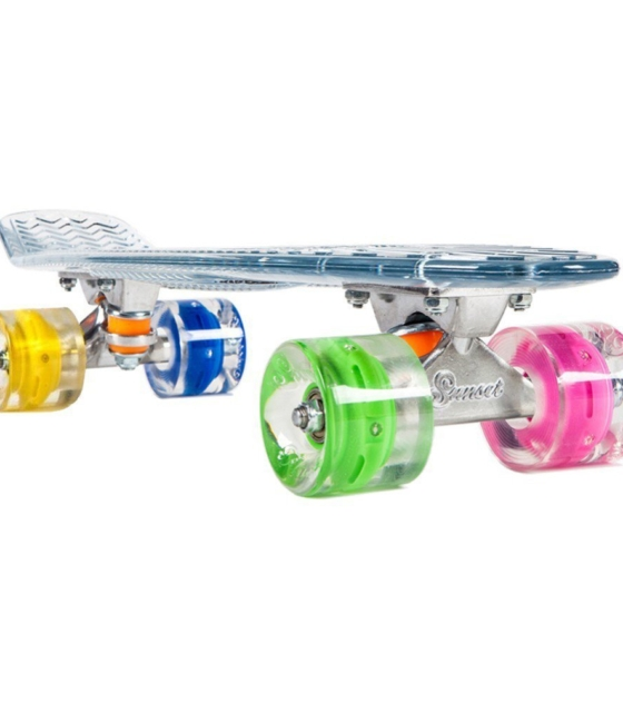 Колеса WITH ABEC9 HIPPY BLUE/GREEN/RED/PINK