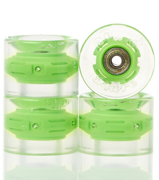 Колеса CRUISER WHEEL WITH ABEC9 Green