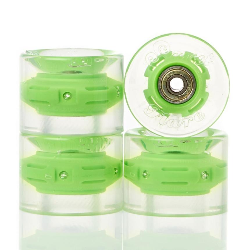 Колеса CRUISER WHEEL WITH ABEC9 Green