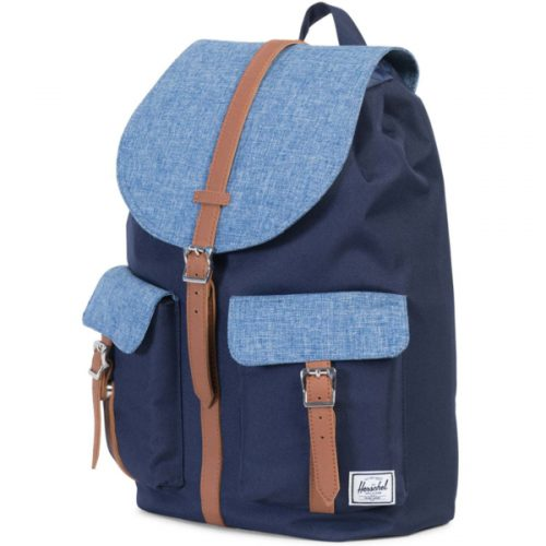 HERSCHEL рюкзак DAWSON CROSSHATCH TAN SYNTHETIC LEATHER