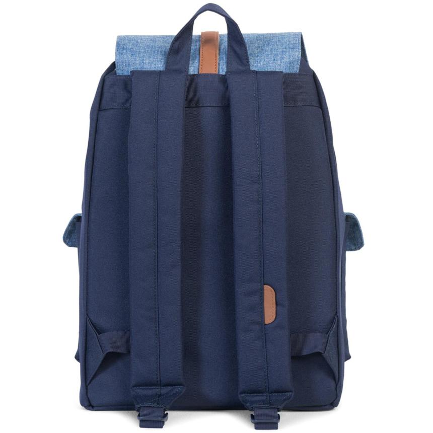 HERSCHEL рюкзак DAWSON CROSSHATCH TAN SYNTHETIC LEATHER