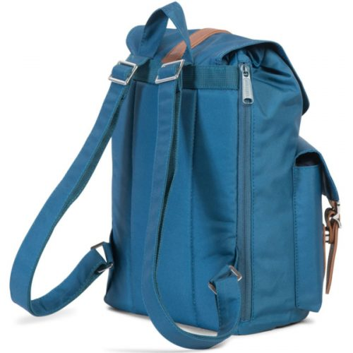 HERSCHEL рюкзак DAWSON WOMENS INDIAN TEAL TAN SYNTHETIC LEATHER