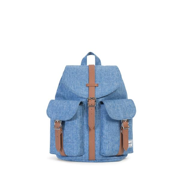 HERSCHEL рюкзак DAWSON WOMENS LIMOGES CROSSHATCH TAN SYNTHETIC LEATHER