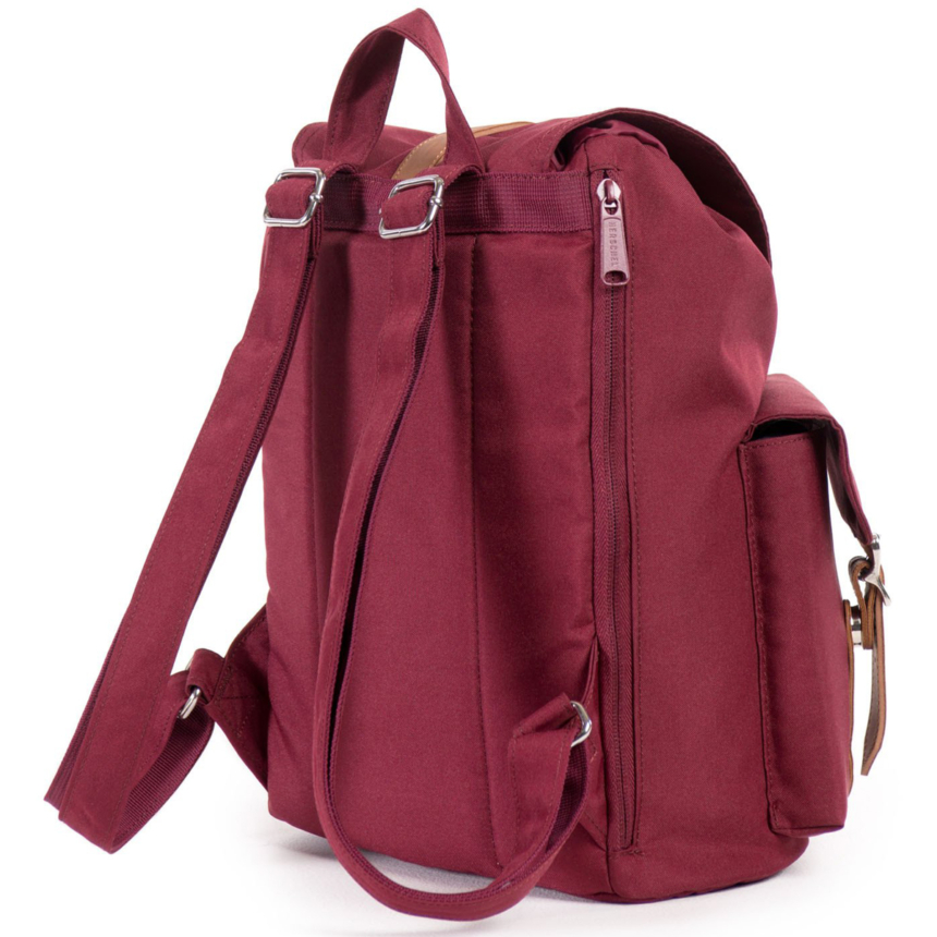 HERSCHEL рюкзак DAWSON WOMENS WINDSOR WINE TAN SYNTHETIC LEATHER