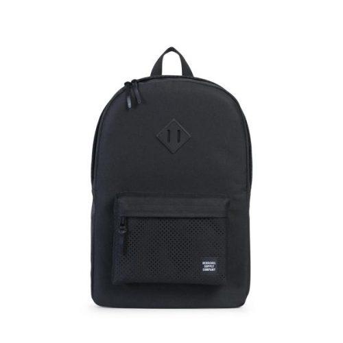 HERSCHEL рюкзак HERITAGE Black Black Rubber