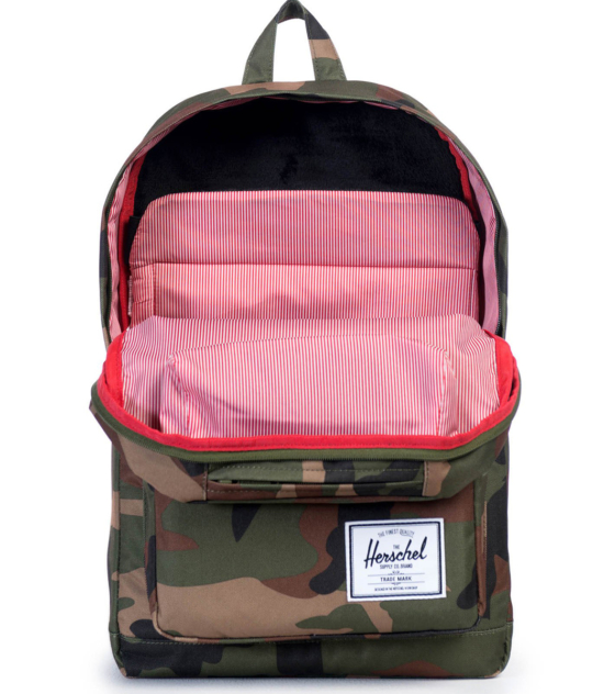 HERSCHEL рюкзак POP QUIZ WOODLAND CAMO MULTI ZIP