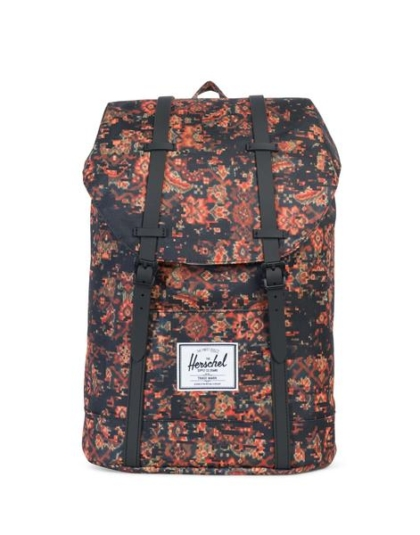 HERSCHEL рюкзак RETREAT CENTURY BLACK RUBBER