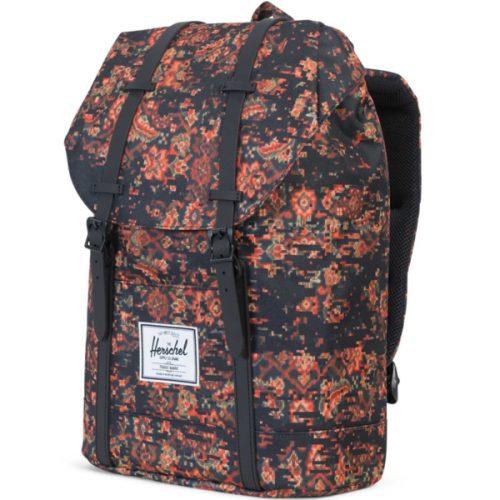 HERSCHEL рюкзак RETREAT CENTURY BLACK RUBBER