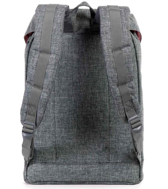 HERSCHEL рюкзак RETREAT RAVEN CROSSHATCH BLACK RUBBER 3M INSERT