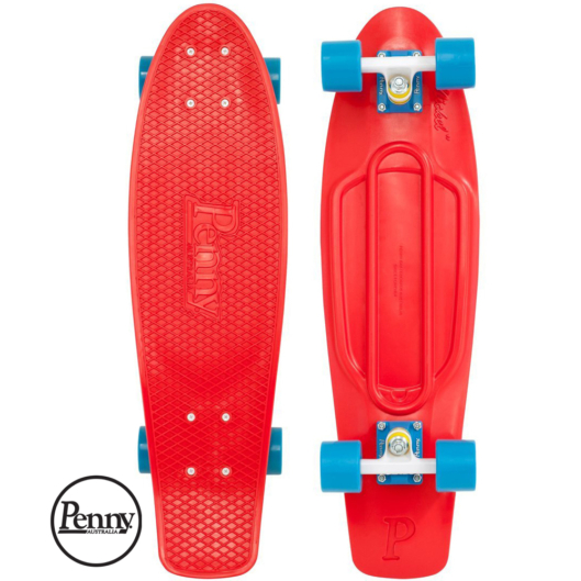 Penny Nickel 27″ Red
