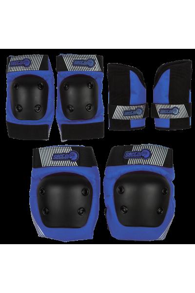 Защита комплект дет SECTOR9 Pursuit JR Pad Blue