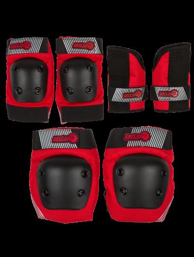 Защита комплект дет SECTOR9 Pursuit JR Pad Red