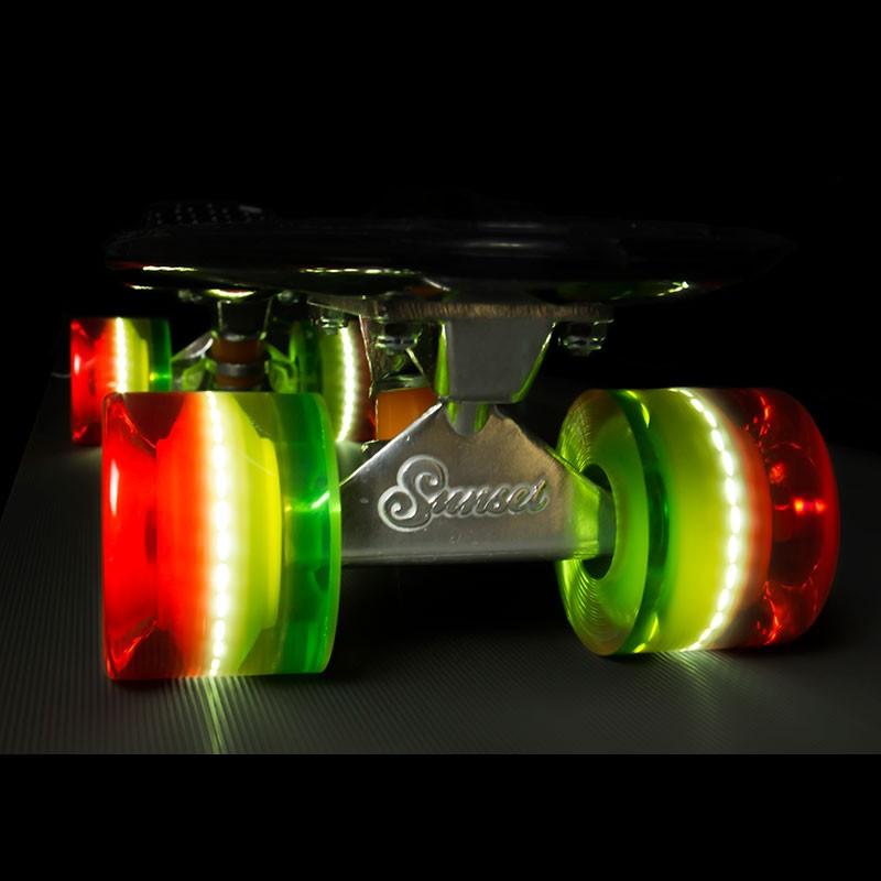 Колеса SUNSET Skateboards Cruiser Wheel With ABEC9 3layer2
