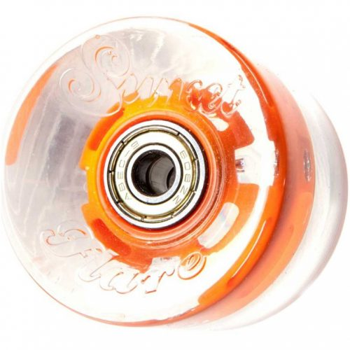 Колеса SUNSET Skateboards Cruiser Wheel With ABEC9 orange