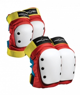 Комплект защиты PRO TEC Street Knee/Elbow Pad Set Retro