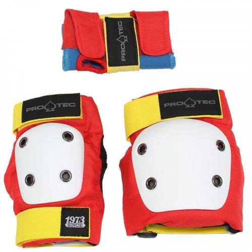 Комплект защиты детский PRO TEC Street Gear Jr 3 Pack Retro