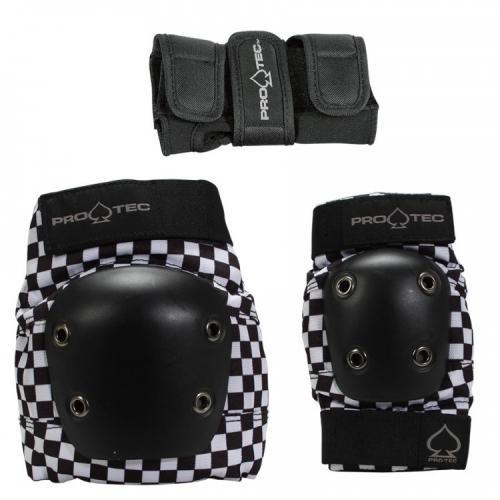 Комплект защиты детский PRO TEC Street Gear Jr 3 Pack Checker