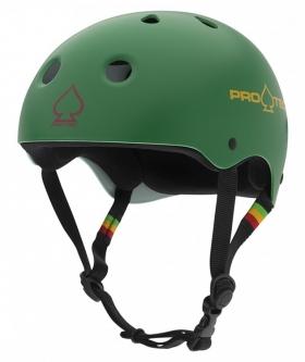 Шлем для пенни PRO TEC Classic Skate Matte Rasta Green