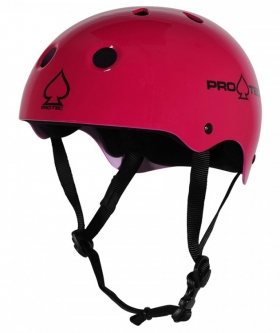 Шлем PRO TEC Classic Skate Gloss Pink