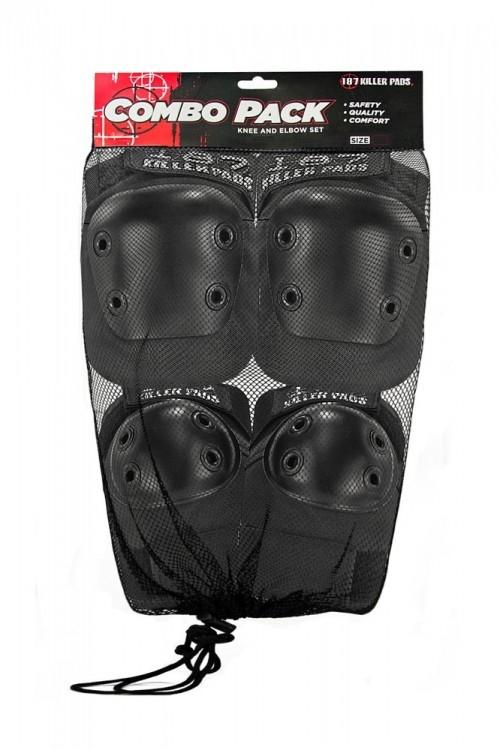 Комплект защиты 187 KILLER PADS Combo Pack Black