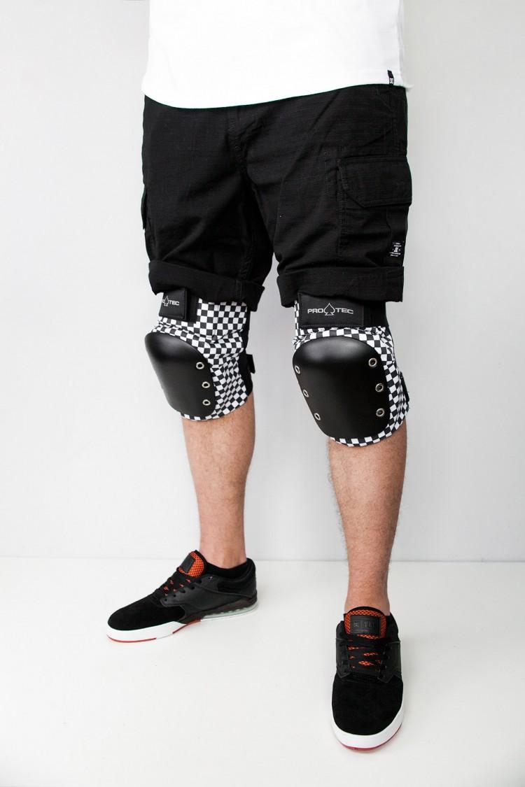 Комплект защиты PRO TEC Street Knee/Elbow Pad Set Checker