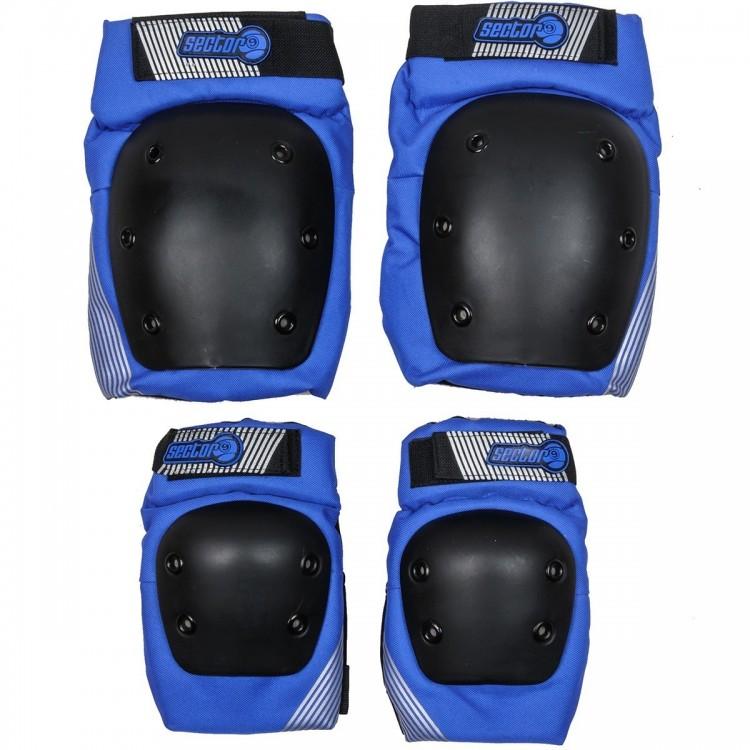 Комплект защиты SECTOR9 Pursuit Pad Set Blue