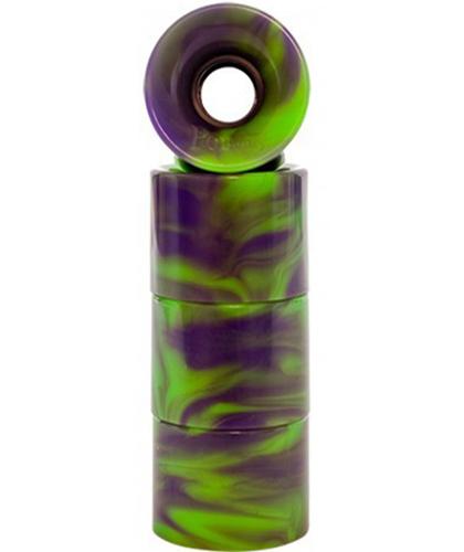 green:purple swirl