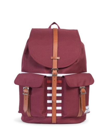 HERSCHEL рюкзак DAWSON WOMENS WINDSOR WINE TAN SYNTHETIC LEATHER