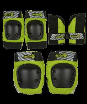Защита комплект дет SECTOR9 Pursuit JR Pad Green