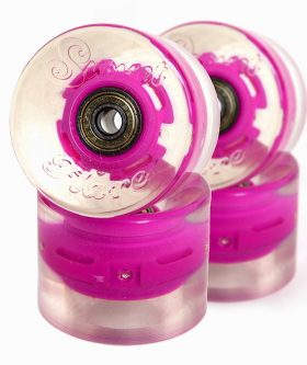 Колеса SUNSET Skateboards Cruiser Wheel With ABEC9 pink